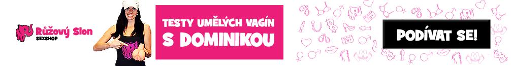 Umělé vagíny - Růžový slon
